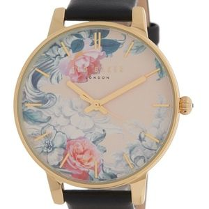Ted Baker Floral Face Wrist Watch